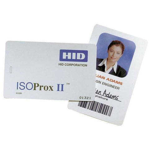 HID 1386 ISO Prox 125KHz Card - Pre-Programmed