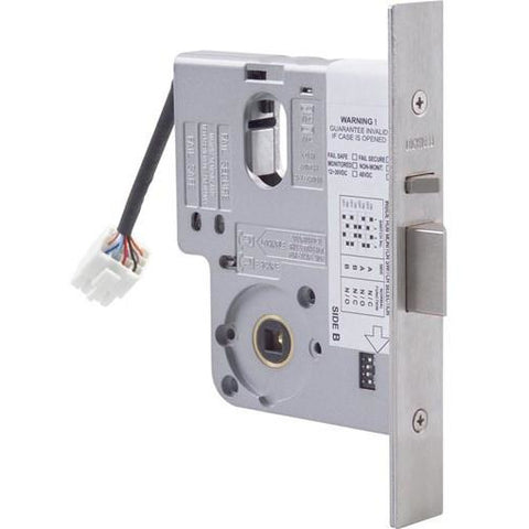 Electric Mortice Lock 4570 Primary Lock monitored with 89 mm Backset CSM security suppliers Security wholesalers