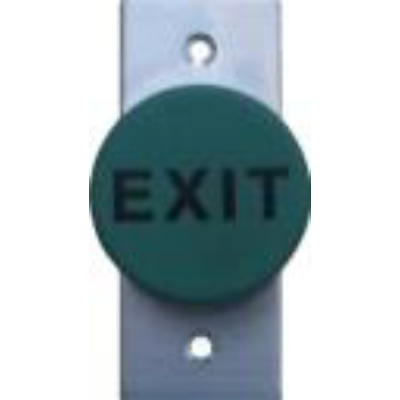 Mushroom Exit Button  - Green, Architrave, IP65