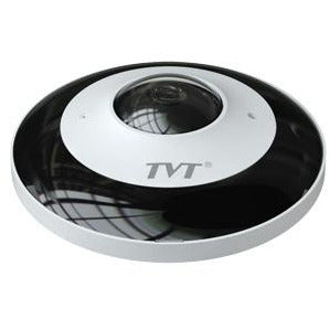 TVT 6MP Fisheye H.265 PoE IP camera, IP66 rated, 20~30m IR CSM security suppliers Security wholesalers