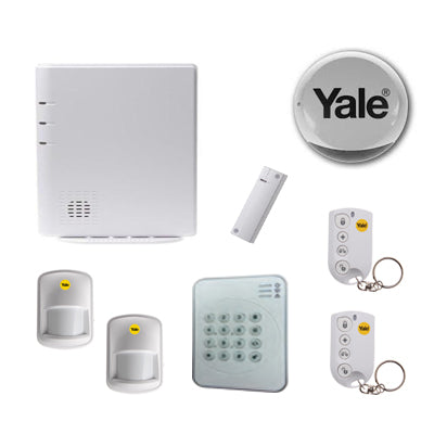 Yale Professional Wireless Smart Phone Alarm Kit, x 2 PET PIR