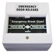 csmerchants.com.au  Break glass emergency release, black CSM