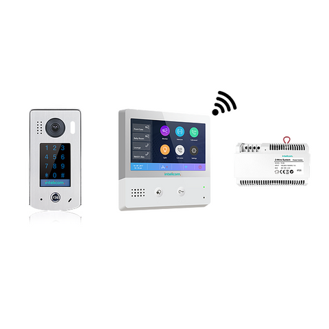 Intelicom 2 Wire Wi-Fi Kit with Touch Access Entry CSM security suppliers Security wholesalers