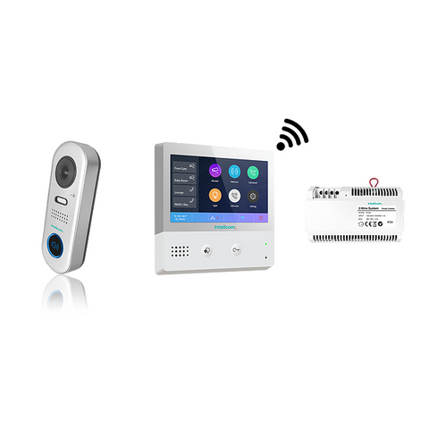 Intelicom 2 Wire Wi-Fi Kit with Villa Entry CSM security suppliers Security wholesalers