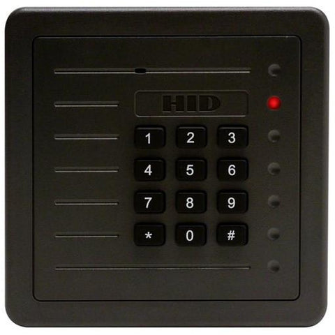 HID 5355 ProxPro 125KHz Reader with keypad - Grey CSM security suppliers Security wholesalers