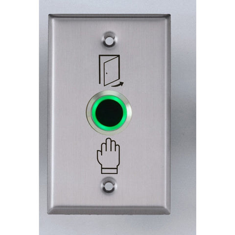 Touchless Exit Button 22mm, 115 x 70mm SS Plate