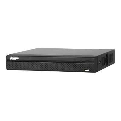 4 Channel Compact 1U 4PoE 4K&H.265 Lite Network Video Recorder