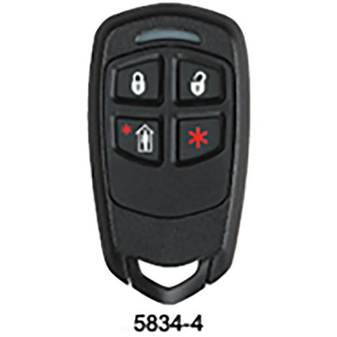 Honeywell 5800 SERIES - 4 BUTTON REMOTE