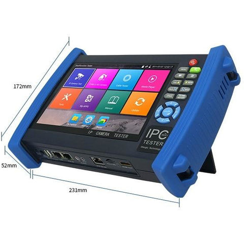 "TruVue 7"" Touch Screen IP Camera Tester"