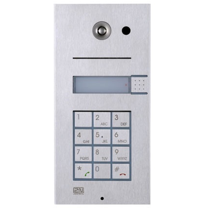 HELIOS Vario IP 1 Button with Camera and Keypad