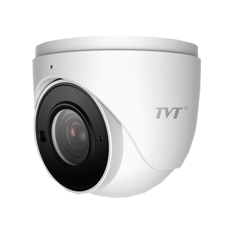 TVT 8MP Eyeball WDR H.265 IP Cam, 30-50m, IR, Zoom3.3-1(Min Qty 12)