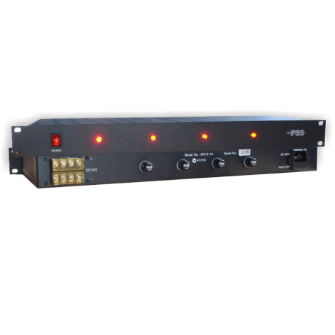 PSS 1RU 12V DC 4AMP Rack Power Supply CSM security suppliers Security wholesalers