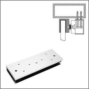 FSH 12mm Glass Dr U-Brkt 4 Arm Plate 4 FEM5700M/5700DM CSM security suppliers Security wholesalers