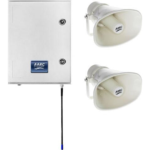 AARC  OUTDOOR WALL MNT SYSTEM RX w/2x Horn Spks CSM security suppliers Security wholesalers