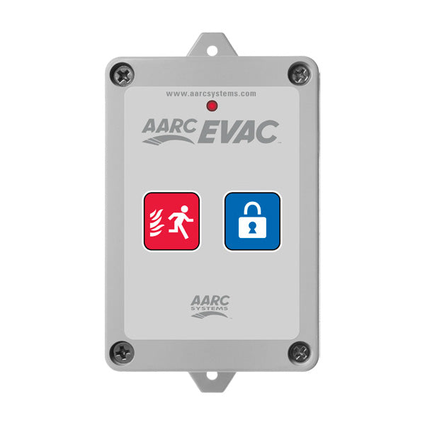 AARC  TX 3CH WALL MOUNT, EVAC, LOCKDOWN & HIDDEN CANCEL CSM security suppliers Security wholesalers