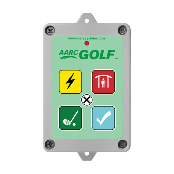 AARC GOLF TX 5CH WALL MOUNT / WEATHER WARNING, COURSE CLOSED, SHOT GUN START, ALL CLEAR & CANCEL CSM security suppliers Security wholesalers