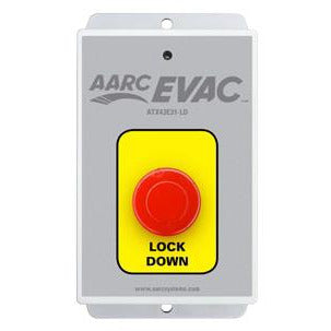 AARC EVAC TX 1CH WALL MOUNT, LOCK DOWN PUSH BUTTON - csmerchants.com.au