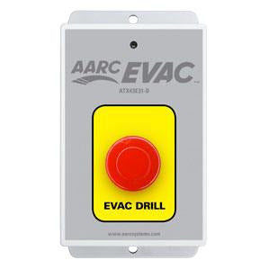 AARC EVAC TX 1CH WALL MOUNT, DRILL PUSH BUTTON - csmerchants.com.au