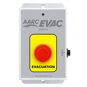 AARC EVAC TX 1CH WALL MOUNT, EVAC PUSH BUTTON w/CANCEL - csmerchants.com.au