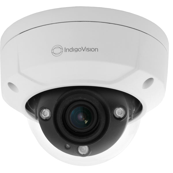 IndigoVision Environmental Vandal Resistant HD Minidome Camera CSM security suppliers Security wholesalers