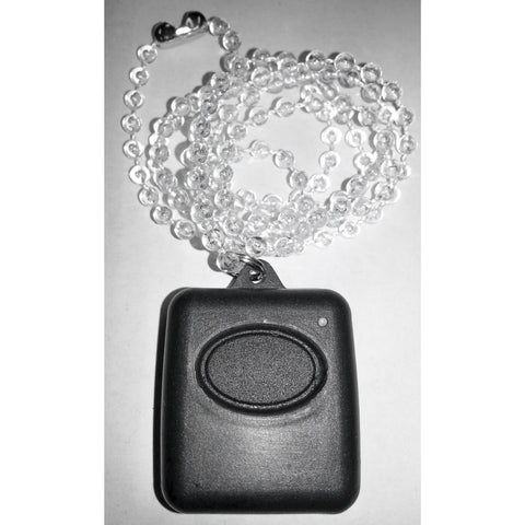 Crow Single Button Pendant TX, Waterproof -Black - csmerchants.com.au