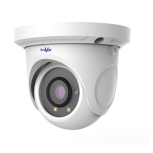 TruVue 4MP Mini Eyeball IP Camera PoE IR 20m 2.8mm lens CSM security suppliers Security wholesalers