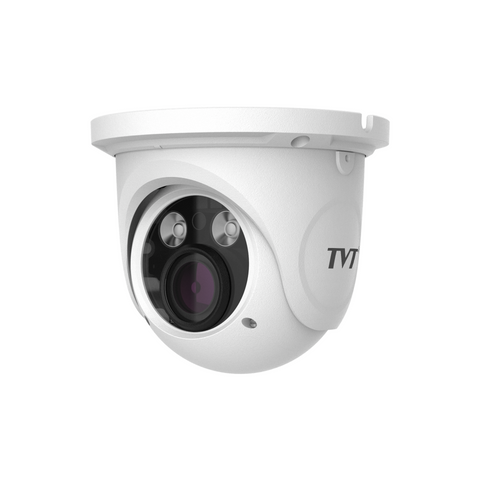 TVT 5MP Eyeball H.265 IP Camera, 20-30m IR, Zoom 3.3-12mm CSM security suppliers Security wholesalers