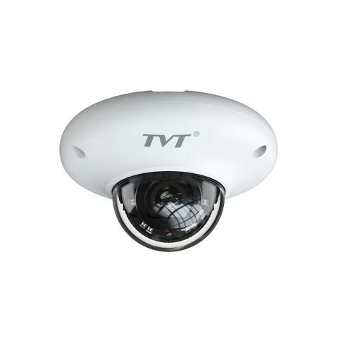 TVT 4MP Mini Dome H.265 IP Camera, 10-20m IR, lens 3.6mm