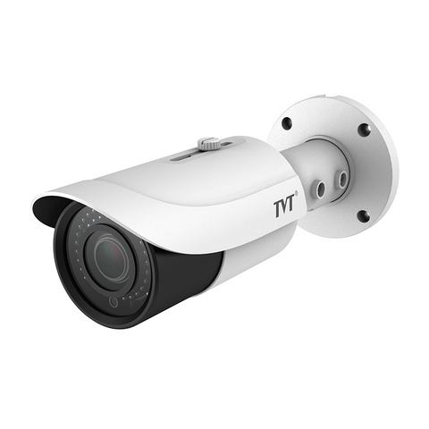 TVT 4MP Bullet H.265 IP Camera, 30-50m IR, Zoom 3.3~12mm