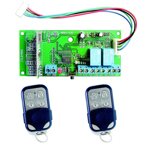 CROW RUNNER ACTIVOR REMOTE KIT 2 TX Remotes AND 1 RX RCVR - csmerchants.com.au