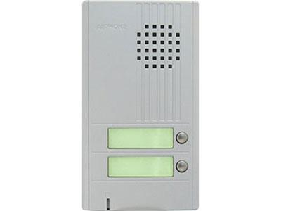 AIPHONE 2CALL DA SERIES DOOR STATION , SILVER CSM security suppliers Security wholesalers