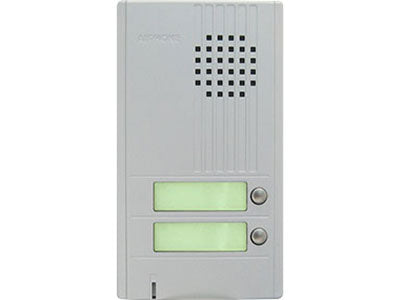 AIPHONE 2CALL DA SERIES DOOR STATION, SILVER-PO CSM security suppliers Security wholesalers