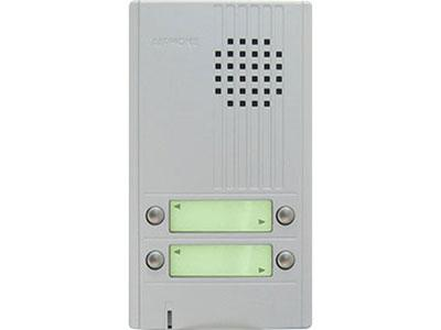 AIPHONE 4 CALL DA SERIES DOOR STATION , SILVER CSM security suppliers Security wholesalers