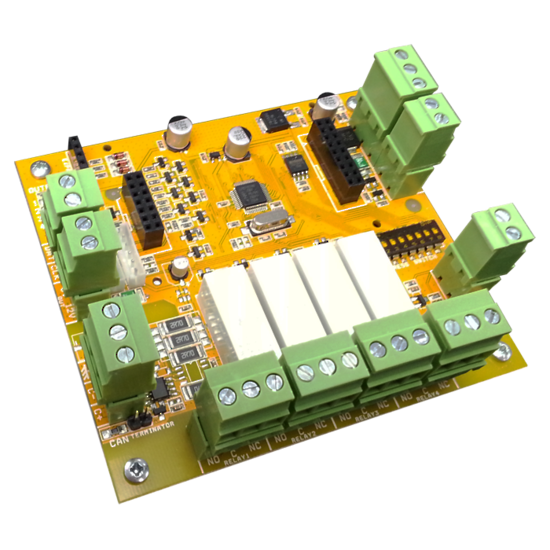 AAP ELITE SX 4 X RELAY OUTPUT MODULE(PCB ONLY)