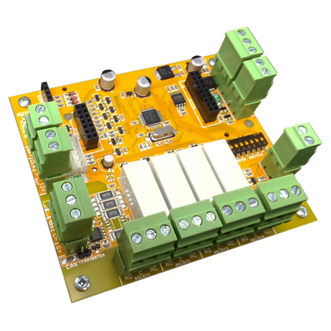 AAP ELITE SX 4 X RELAY OUTPUT MODULE(PCB ONLY) - csmerchants.com.au