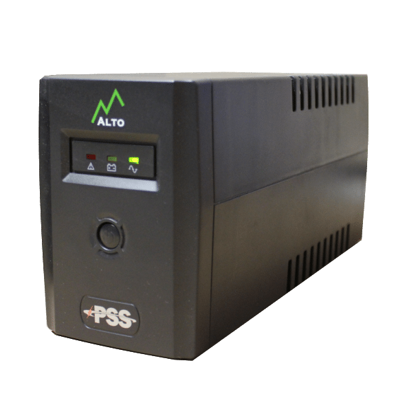 PSS Eco 600VA UPS (Uninterruptible P/S) 1x 12V 7AMP Batt CSM security suppliers Security wholesalers
