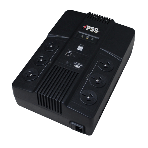 PSS UPS 800VA with int battery 1x12V/9Ah CSM security suppliers Security wholesalers