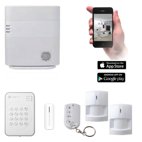VESTA HSGW Series Smart Home Alarm System HSGW KIT 3A (3G/4G)