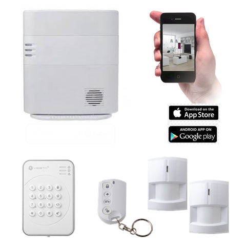 VESTA HSGW Series Smart Home Alarm System HSGW KIT 3B(4G/3G)