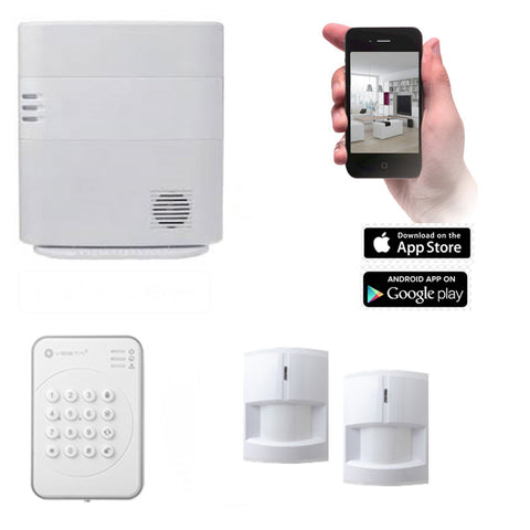 VESTA HSGW Series Smart Home Alarm System HSGW KIT 3C (3G/4G)