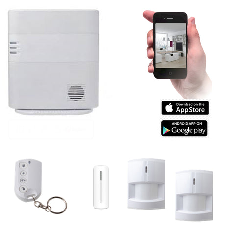 VESTA HSGW Series Smart Home Alarm System HSGW KIT 3D(3G/4G)