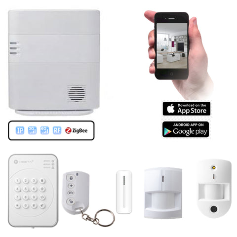 VESTA HSGW Series Smart Home Alarm System HSGW KIT 4