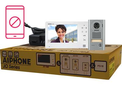 "AIPHONE 7""SCR with TOUCH BUTTONS,HAND FREE 1X1 COL VID(JO1MD,JODV,PS) CSM security suppliers Security wholesalers"