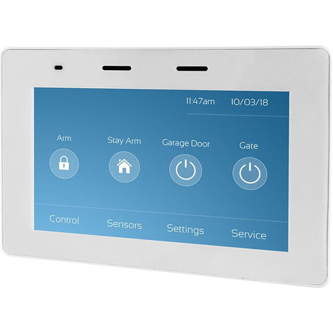 "5"" Touch Screen Keypad for Runner (White) CSM security suppliers Security wholesalers"