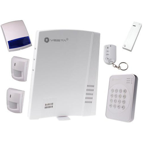 VESTA Wireless Alarm System Kit 2 F1