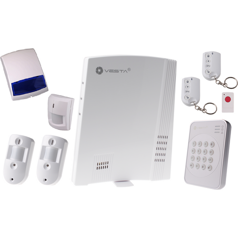 VESTA Wireless Alarm System Kit F1