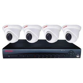 Honeywell KIT w 4CH NVR 4POE, 4 x 3MP Eyeball Dome Camera