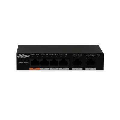 Dahua  Dahua 4 Port PoE Switch 60 Watt CSM