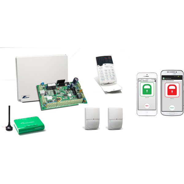 Crow Monitored Security & Control Kit - csmerchants.com.au