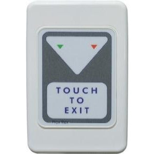 Trojan Wall Plate Prox Touch To Exit Button 2 Led S